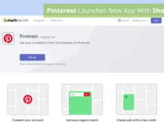 Pinterest Launches New App With Shopify 2020