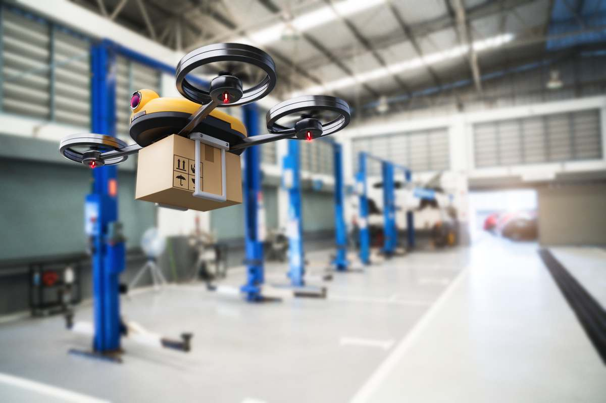Drone Deliveries in ecommerce