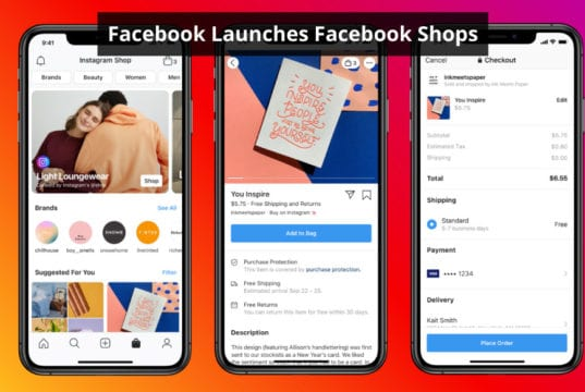 facebook launches facebook shops